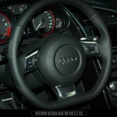 <strong>Interior design AUDI R8 V10 5.2 FSi</strong>