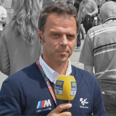 <strong>2015 LORIS CAPIROSSI MotoGP Safety Advisor and Sky Sport HD presenter</strong>