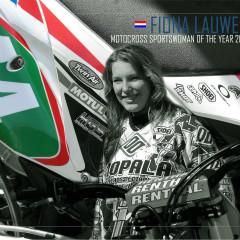<strong>44 Fiona Lauwen - MOPALA Etten-Leur - DUTCH MOTOCROSS SPORTSWOMAN OF THE YEAR 2012</strong>