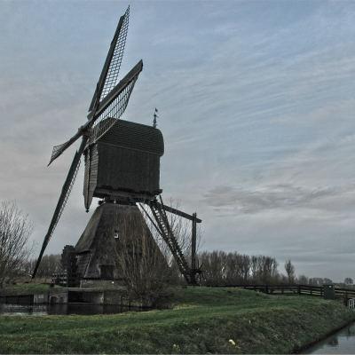 <strong>Noordeveldse Mill in Dussen, the Netherlands</strong>