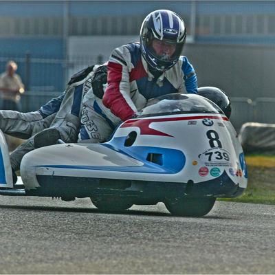 <strong>SIDECAR RACING GERT SLOT and MARINUS SOK  #8  BMW</strong>