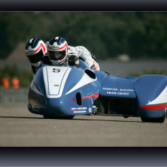 <strong>5 SIDECAR-RACING TEAM CROFT: Phil Croft (GB) and Arjen Portijk (NL)</strong>