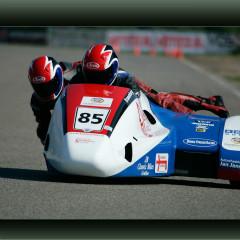 <strong>85 SIDECAR RACING TEAM Team Kranenburg: Wiggert Kranenburg and Jermaine van Middegaal</strong>